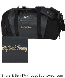 Nike Golf Large Duffel Design Zoom